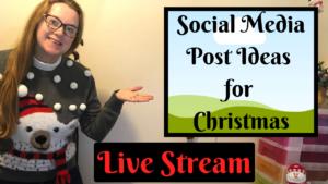 Social Media Post Ideas For Christmas 2020